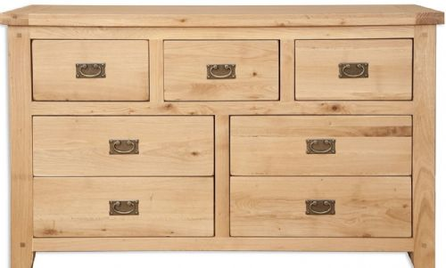 Melbourne Natural 7 Drawer Merchants Chest